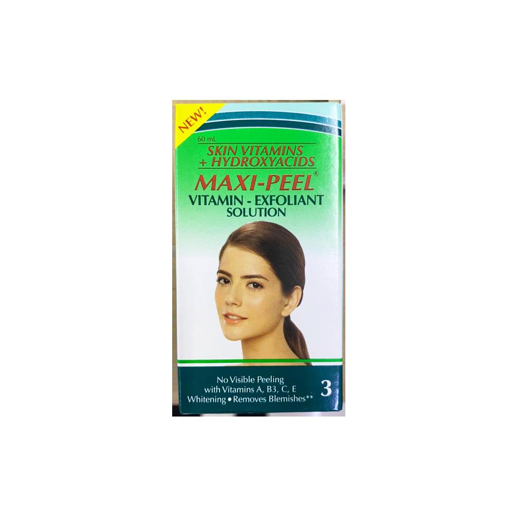 Maxipeel 3 Skin Vitamins and Hydroxyacids 60ml