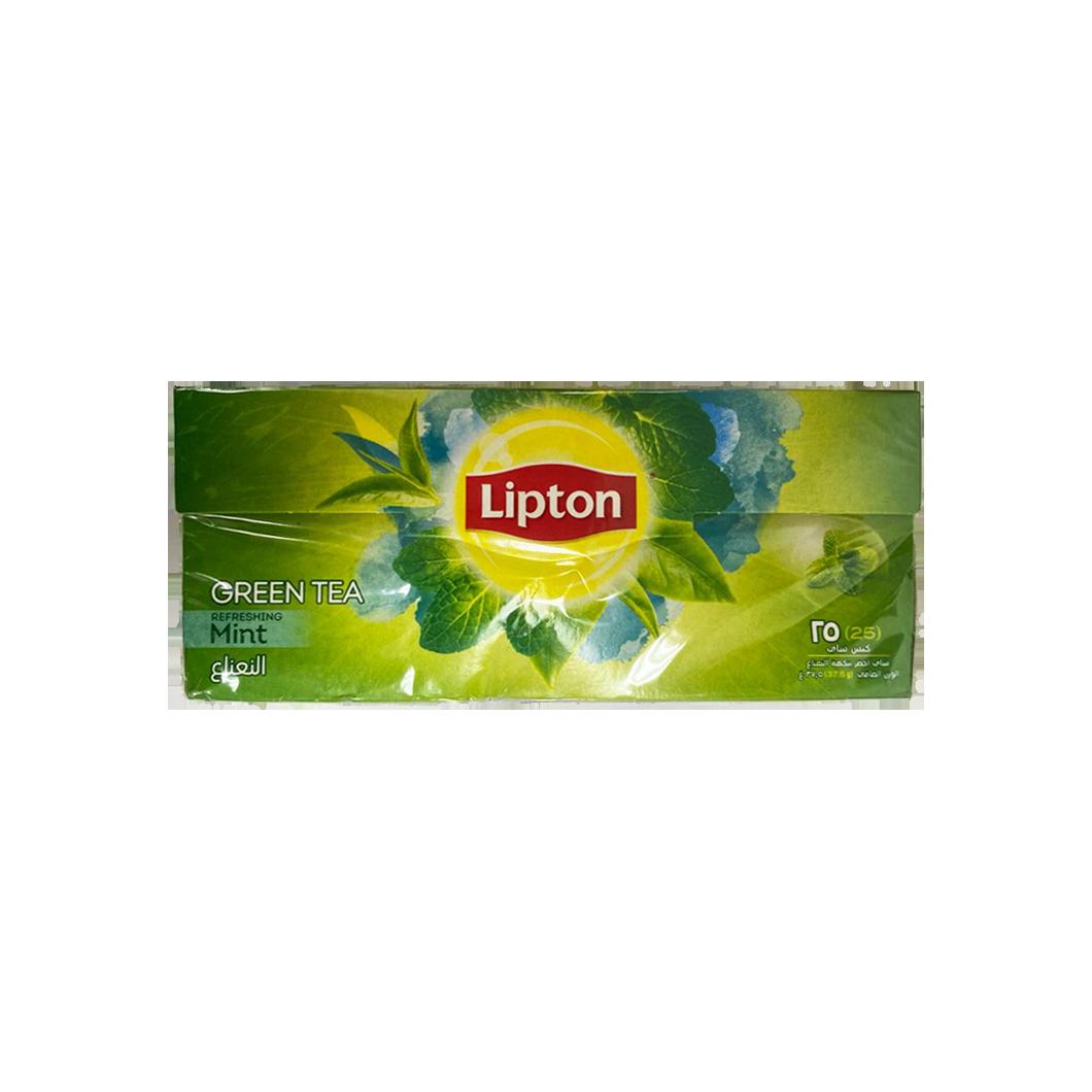 Lipton Green Tea with Mint 25 Bags
