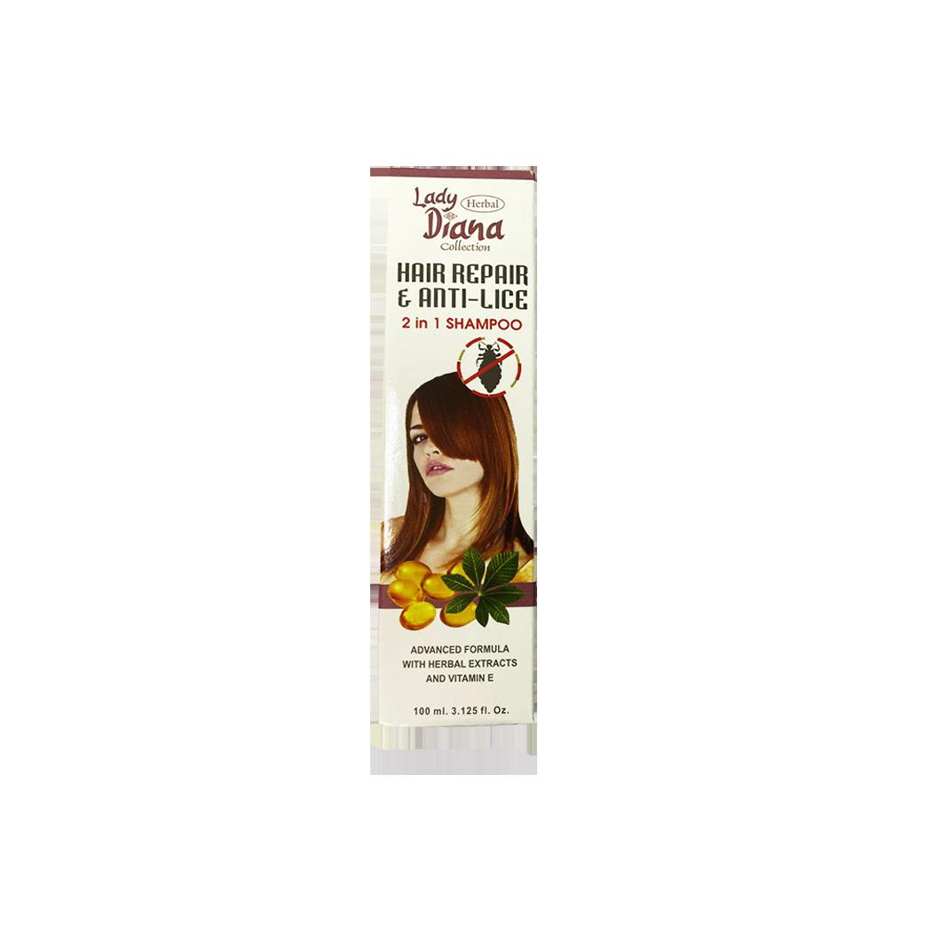 Lady Diana Hair Repair & Anti Lice 2 in1 Shampoo 100ml