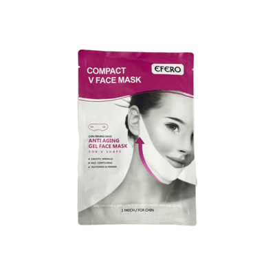 Compact V Face Anti Aging Gel face Mask