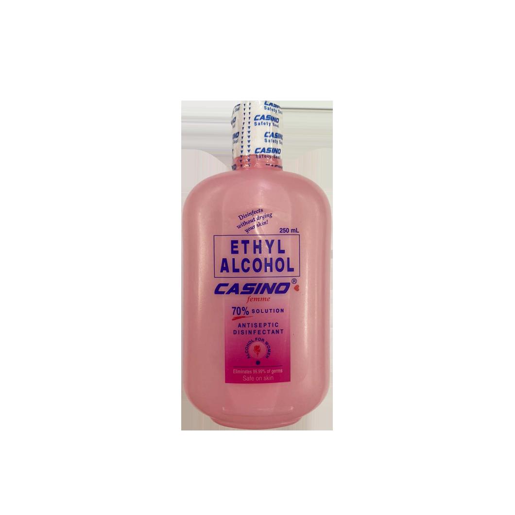 Casino Ethyl Alcohol 70& Solution  250ml (Pink)