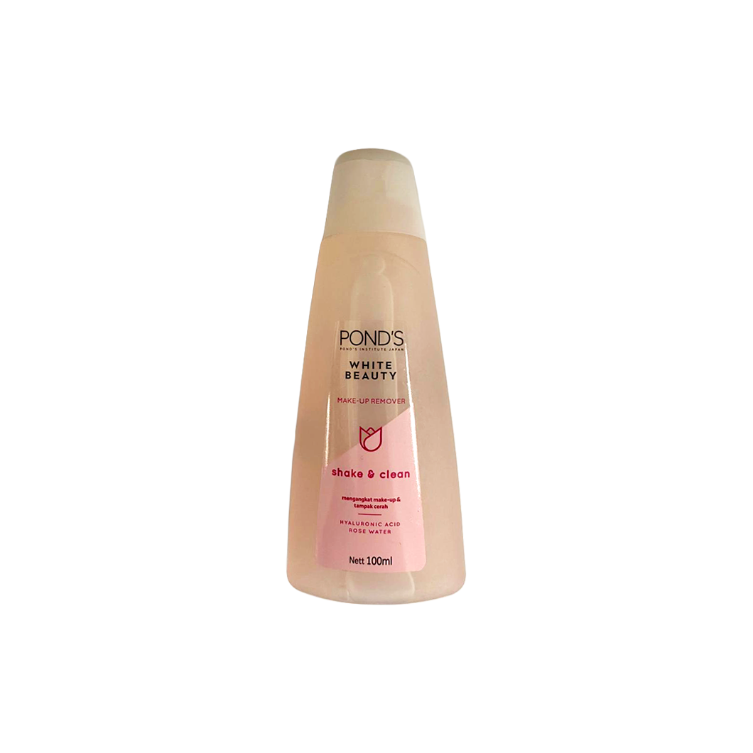 Ponds Clear Solution Shake & Clean Make Up Remover 100ml (rosewater)
