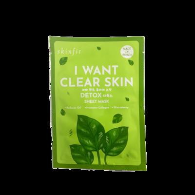 Brilliant Skin - Skin Fit Detox Sheet Mask