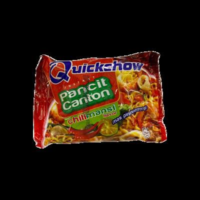 Quickchow Pancit Canton Chili Mansi Flavor 65g