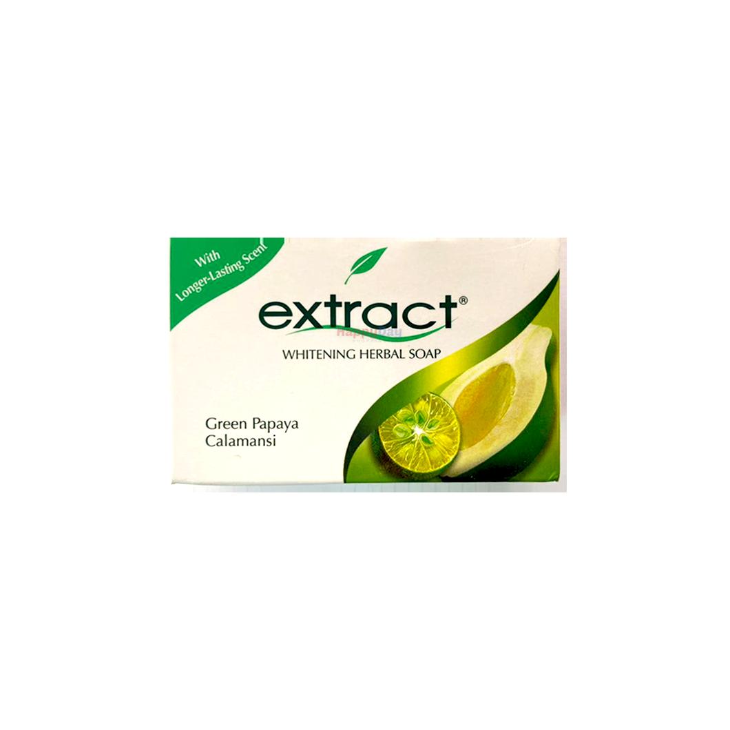 Extract Whitening Herbal Soap Green Papaya Calamansi 125g
