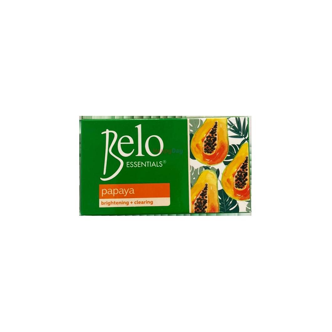 Belo Essentials Papaya Brightening & Clearing Soap 135g
