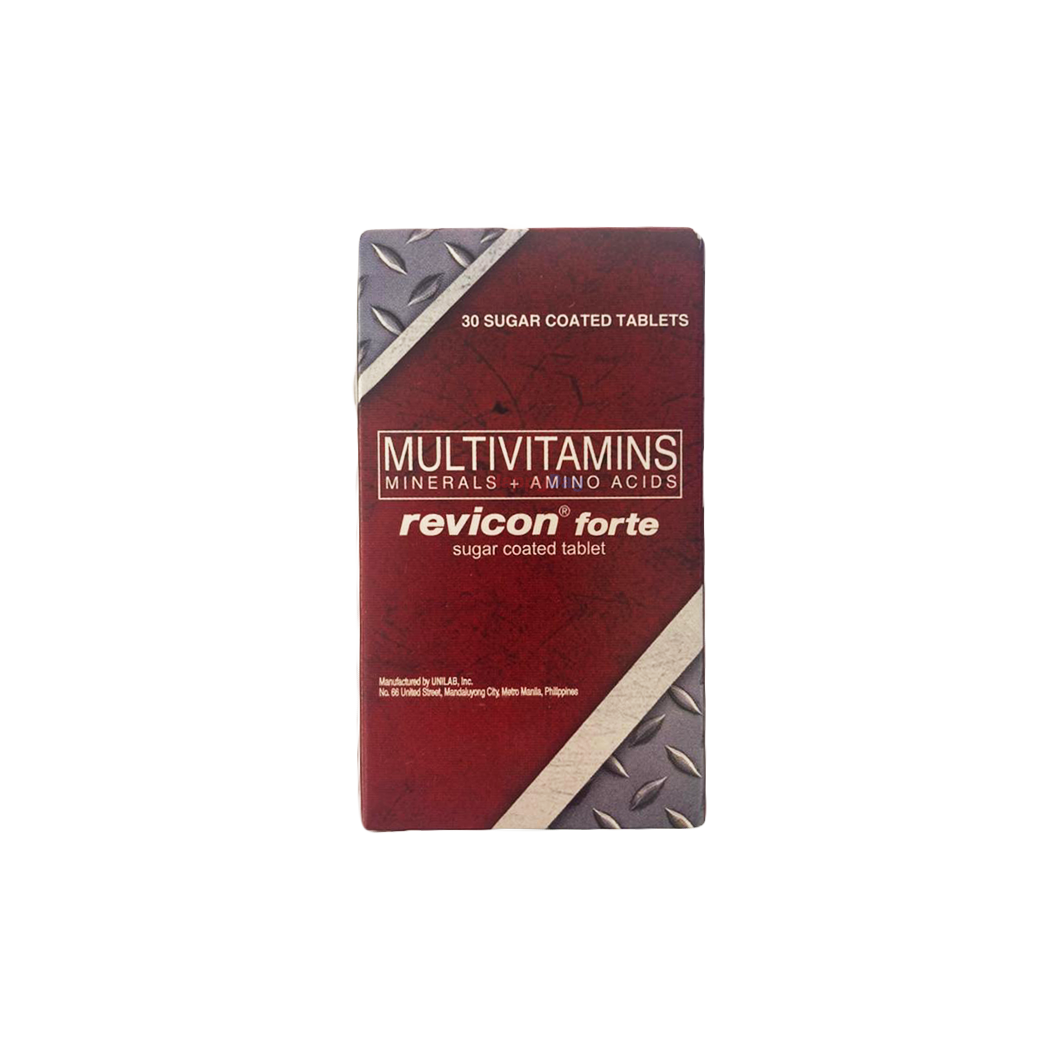 Revicon Forte (30 Sugar-Coated Tablets)