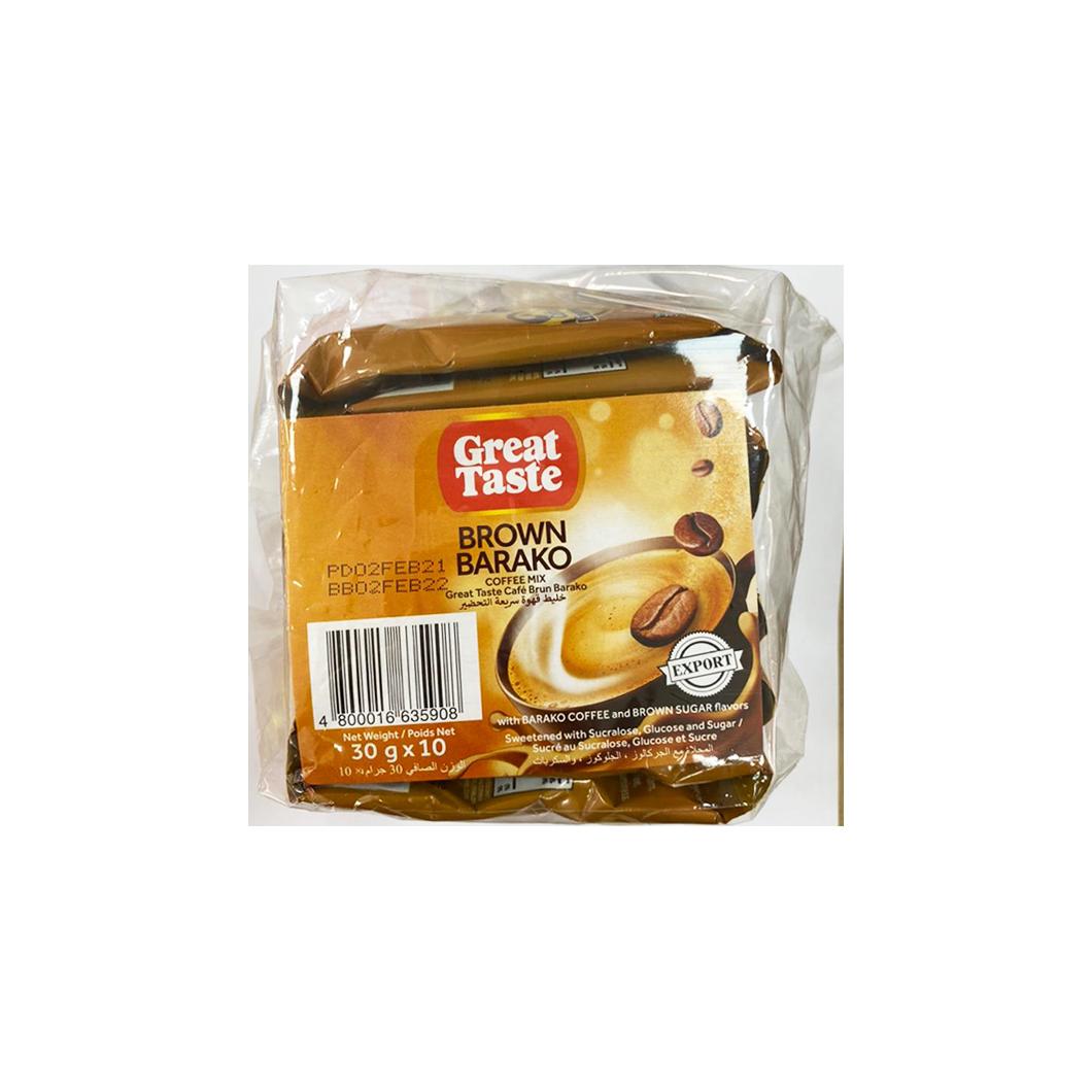 Great Taste Brown Barako 30gx10