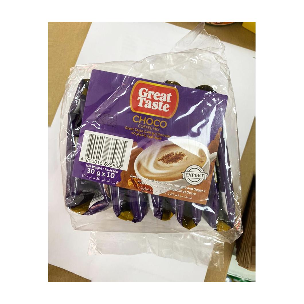Great Taste Choco Coffee Mix 30gx10