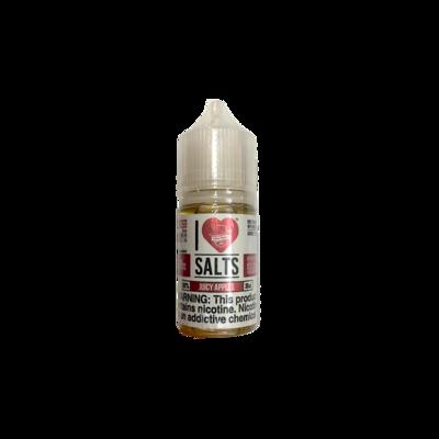 Vape Juice - Juicy Apple Saltnick 50mg (30ml)