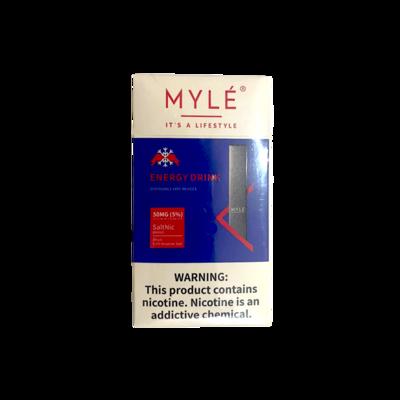 Vape Device - Myle Disposable Vape Energy Drink (3pcs)