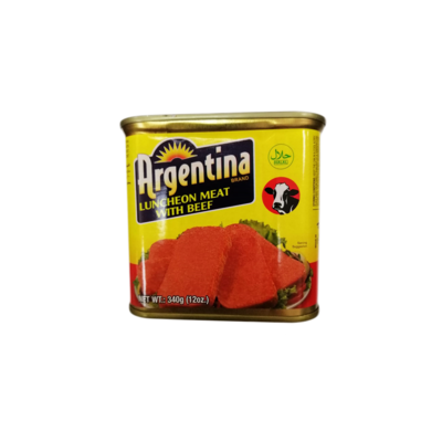 Argentina Luncheon Meat with Beef 340g