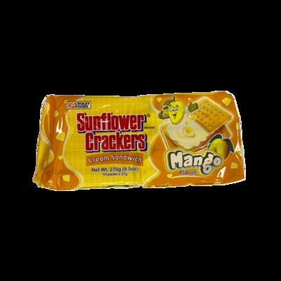 Croley Foods Sunflower Crackers Mango 270g