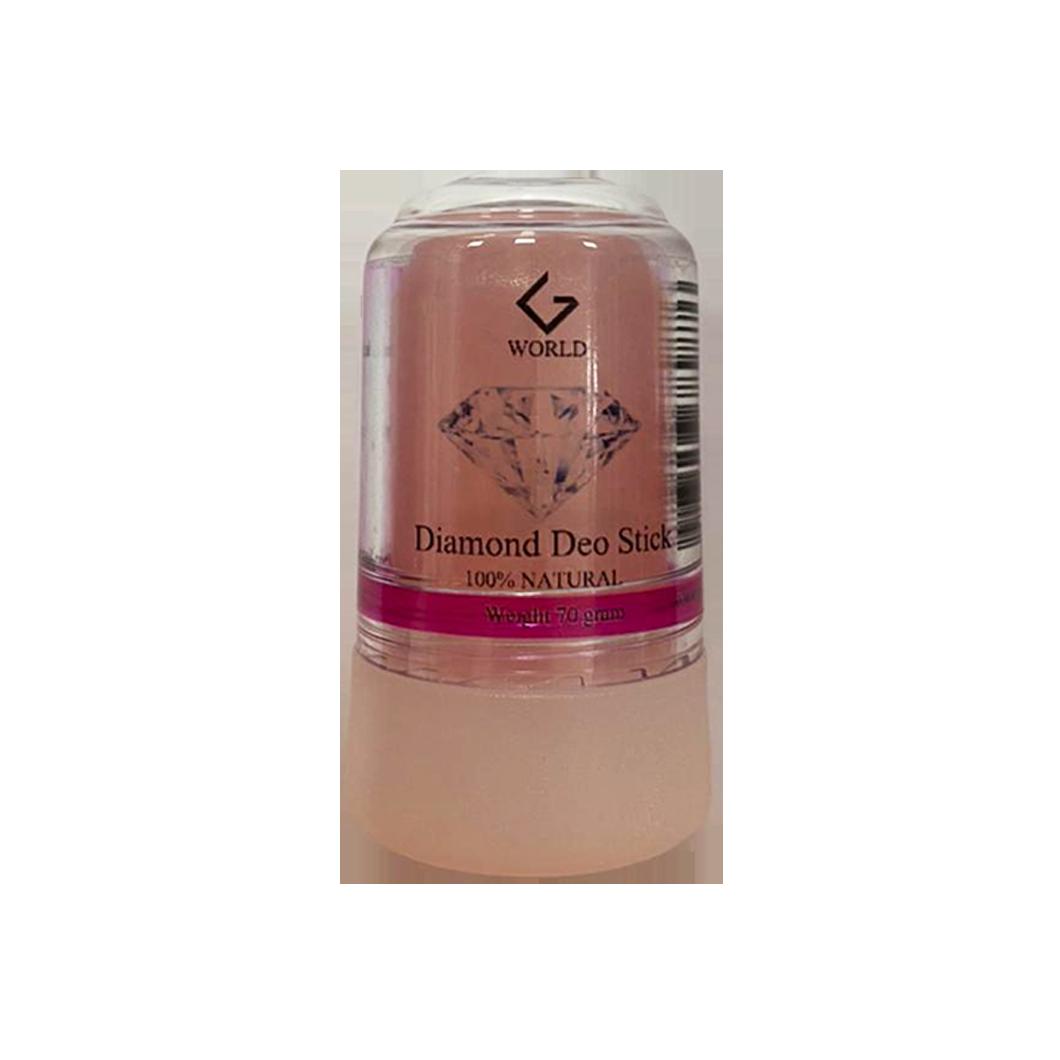 G World Diamond Deo Stock Natural 70g (pink)
