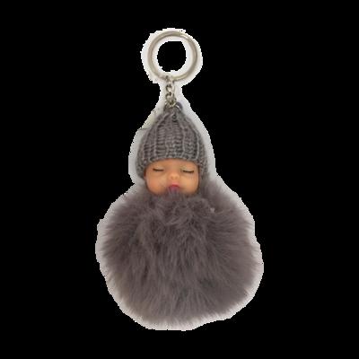 Keychain Baby - Gray