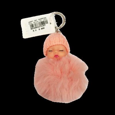Keychain Baby - Peach