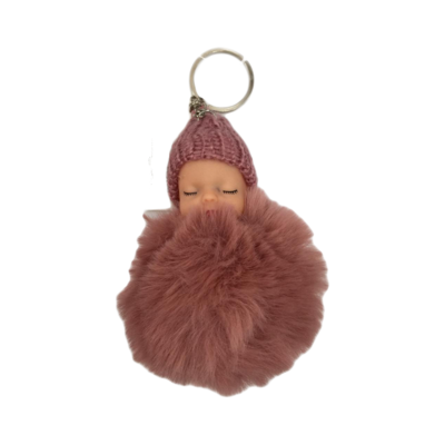 Keychain Baby - Brown