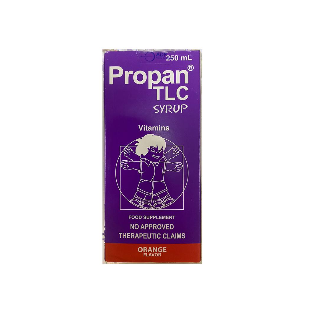 Propan TLC Syrup Orange Flavor 250ml