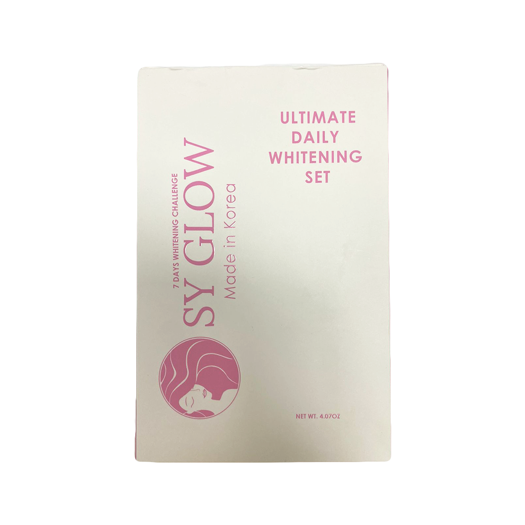 SY Glow Ultimate Daily Whitening Set