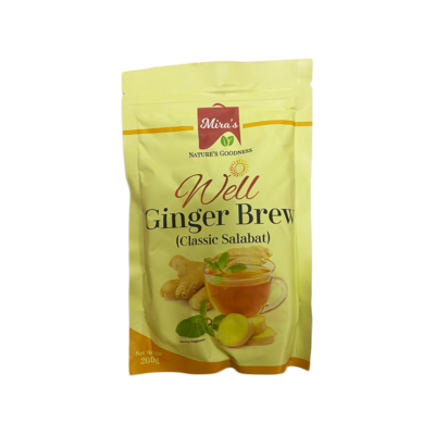 Mira Well Nature Ginger Brew 200g