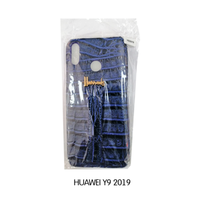 Huawei Phone Case - y9 2019 - Blue Snake