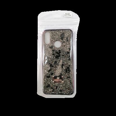 Huawei Phone Case - Nova 3i Swarovski Gray Black