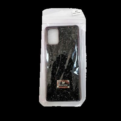 Samsung Case - A71 - Black Swarovski
