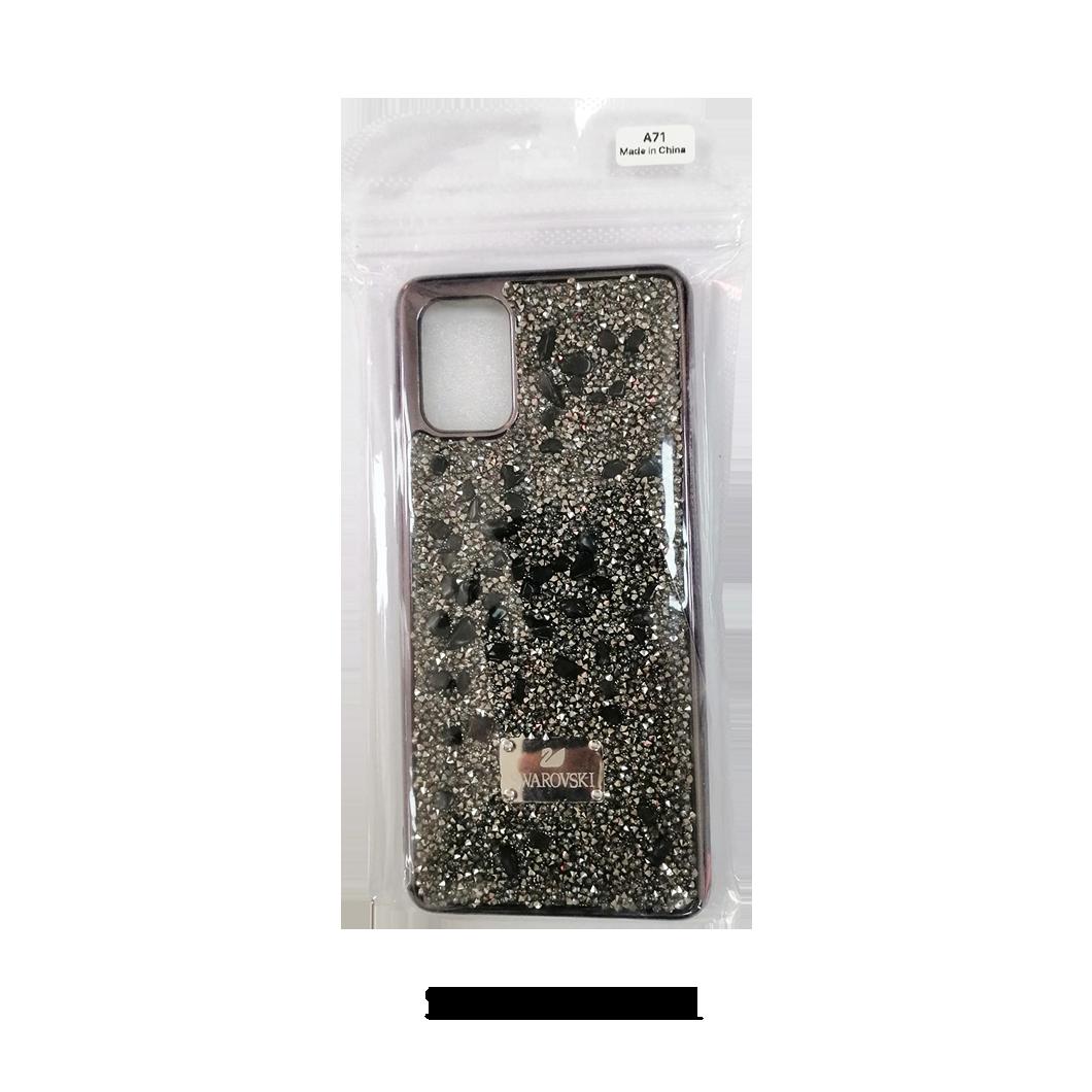 Samsung Case - A71 - Gray Swarovski