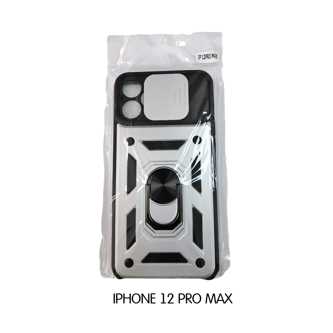 Iphone Case 12 Pro Max - White and Black