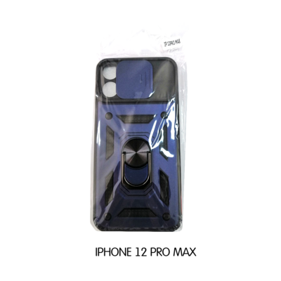 Iphone Case 12 Pro Max - Blue and Black