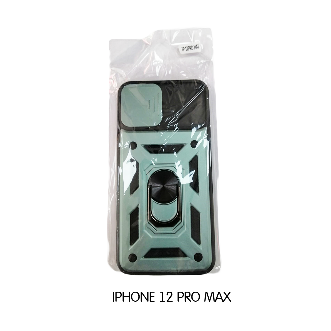 Iphone Case 12 Pro Max - Teal and Black
