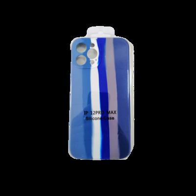 Iphone Case 12 Pro -Blue Stripes