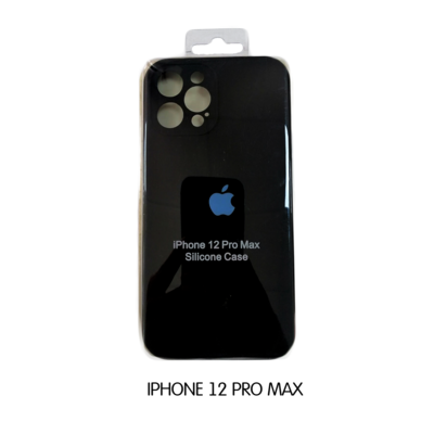 Iphone Case 12 Pro Max - Black Iphone Case