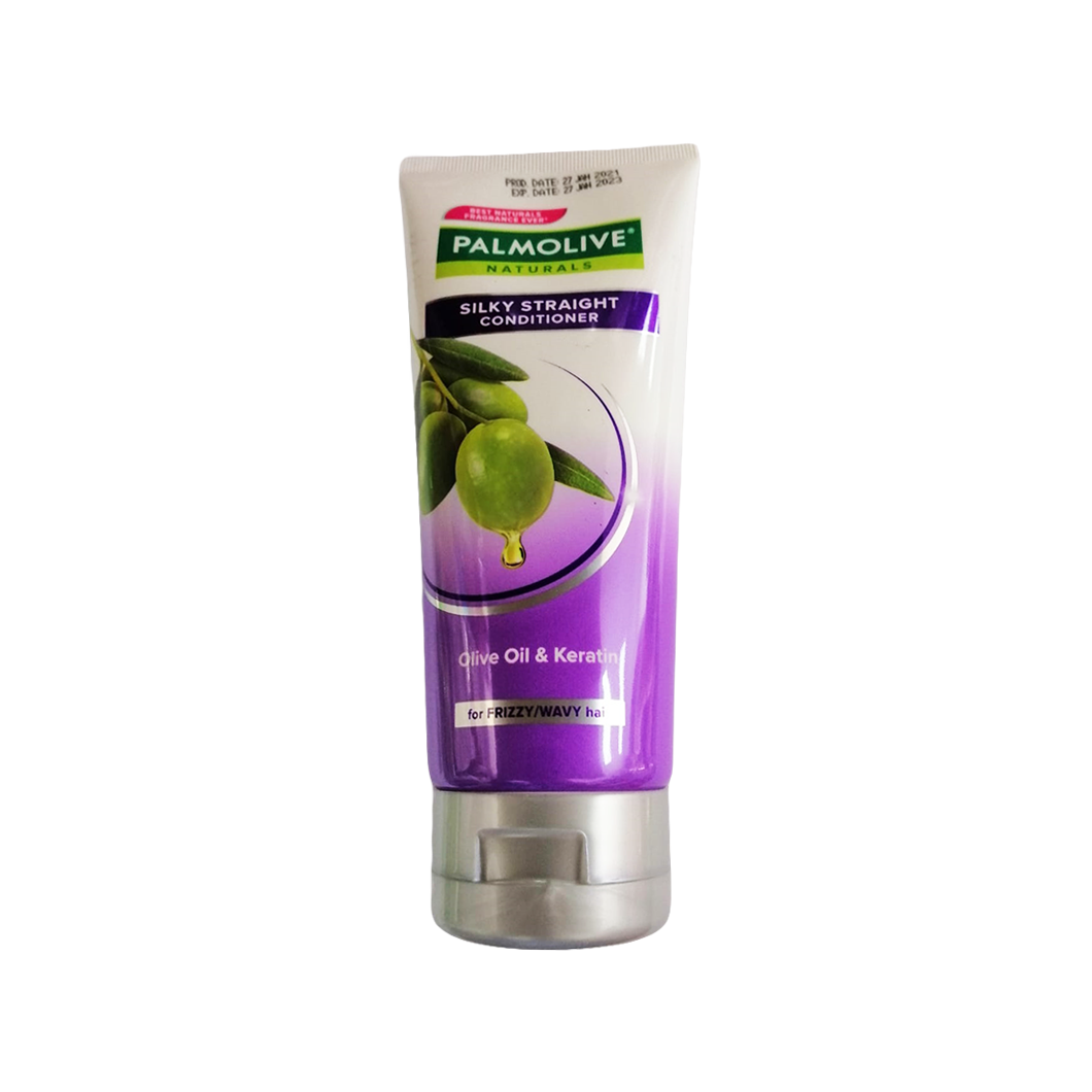 Palmolive Silkystraight Shampoo for Frizzy and wavy Hair 180ml