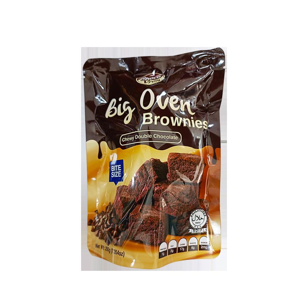 Big Oven Brownies (Chewy Double Chocolate) 200g