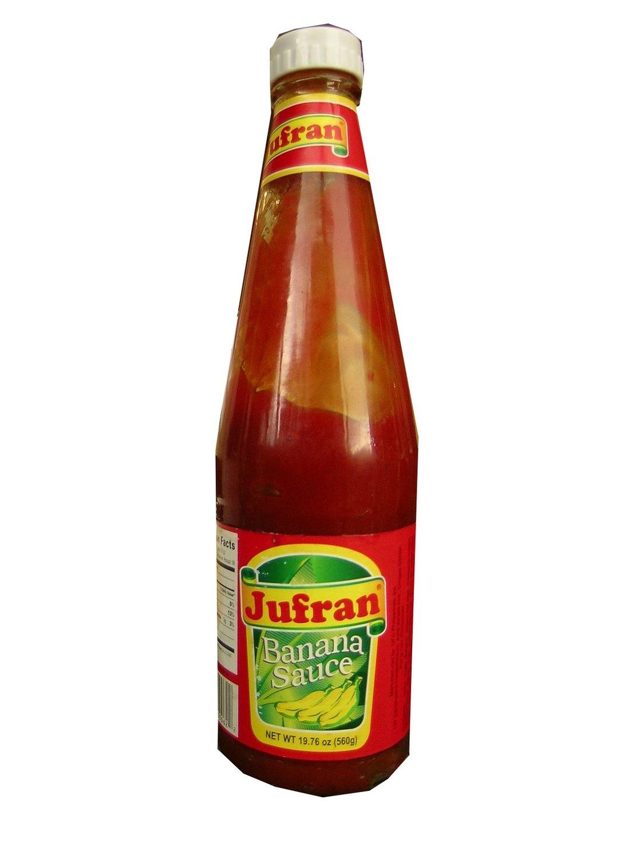 Jufran Banana Sauce Hot & Spicy 560g