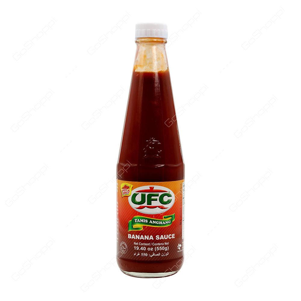 UFC Banana Sauce Tamis(hot & spicy) Anghang 560g
