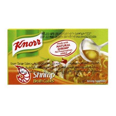 Knorr Broth Shrimp Cubes 6 cubes 60g