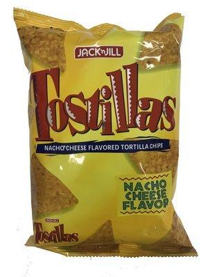 Jack n Jill Tostillas Nacho Cheese Flavored Tortilla Chips 72g