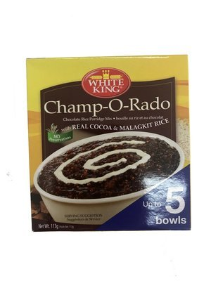 White King Champorado with Real Cocoa & Malagkit Rice 113g