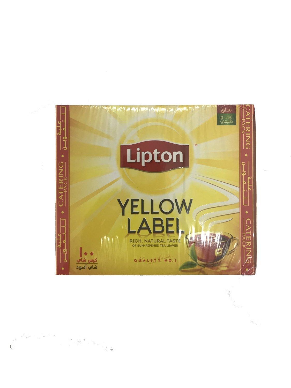 Lipton Yellow Label 100pc