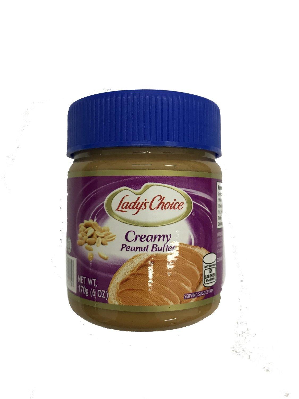 Ladys Choice Creamy Peanut Butter 170g