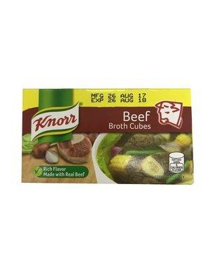 Knorr Broth Beef Cubes 6x60g