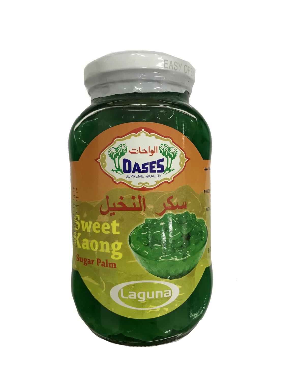 Oases Sweet Kaong Sugar Palm Green 340ml
