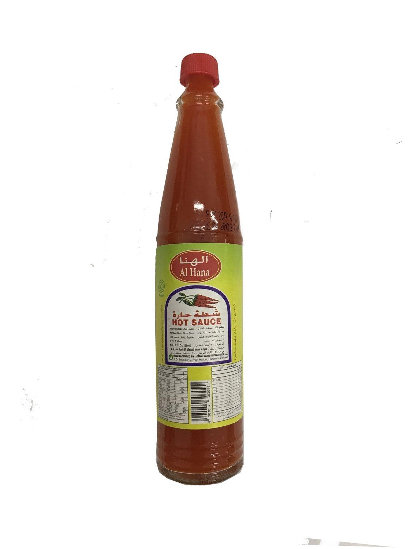 Al Hana Hot Sauce 88ml