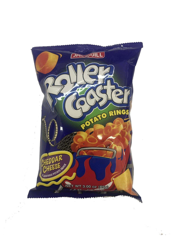 Roller Coaster Potato Rings Cheddar Cheese 85g