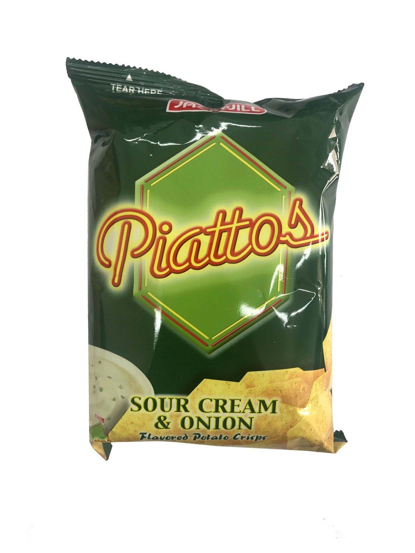 Piattos Sour Cream & Onion 85g