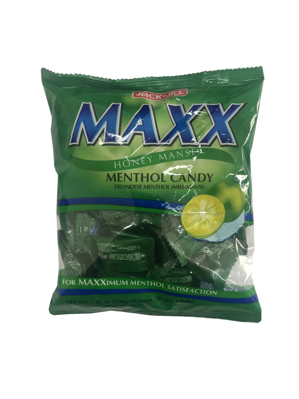 Maxx Honey Mansi Menthol Candy 200g