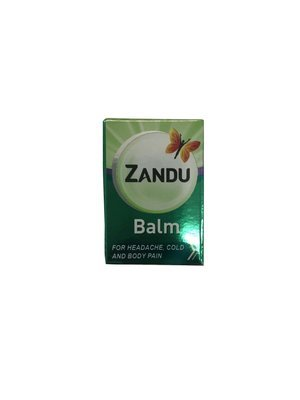 Zandu Balm for headache cold and body pain 9ml