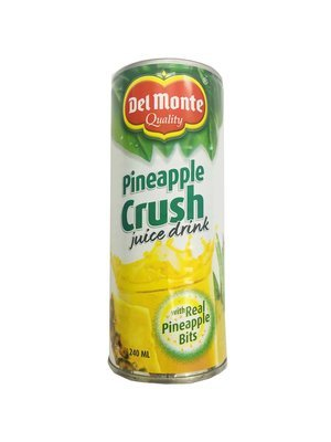 Del Monte Pineapple Crush Juice Drink with Real Pineapple Bits 240ml